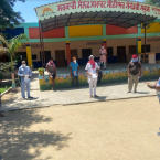 Government school in  Chanarthal Kalan provided lesson on dengue symptoms & prevention