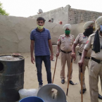 Major haul of 1.33 lakh litres illicit liquor recovered and destroyed in 3 districts of state