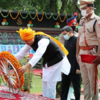 School education and PWD Minister Vijay Inder Singla hoists national flag in Sangrur