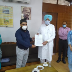 Balbir Singh Sidhu issues appointment letters to 19 Unani Medical Officers