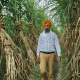 Kanwaljit Singh Lali, a farmer from Batala sets an example by not  burning stubble