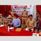 Patiala Police organised free medical check-up camp